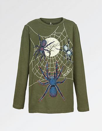 Glow in the Dark Spider T-Shirt