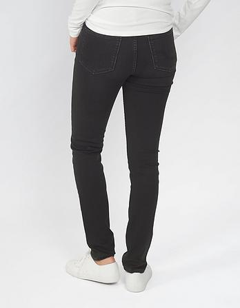 Washed Black Slim Jeans