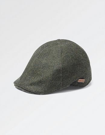 Tweed Duckbill Hat