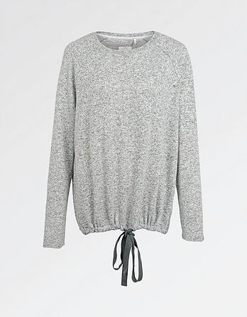 Weston  Soft Tie Crew Neck Sweat