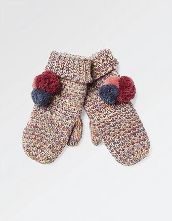 Mini Bobble Mittens
