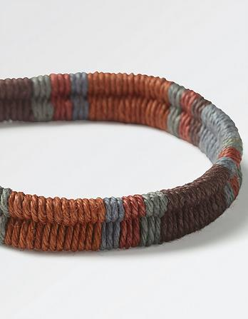 Ethan Double Braided Bracelet