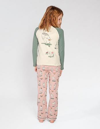 Deer Jersey Pyjama Set