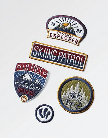 Iron On Badge Collection