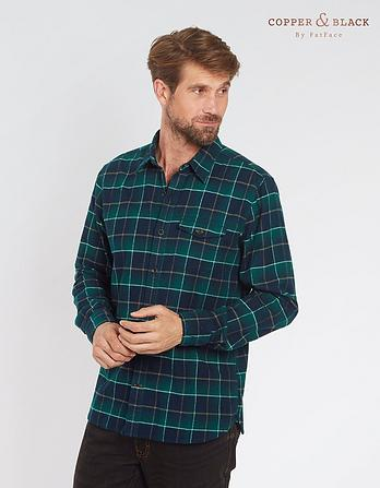 Thetford Windowpane Check Shirt