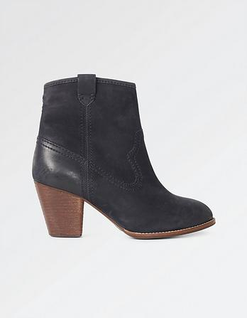 Oake Heel Ankle Boots