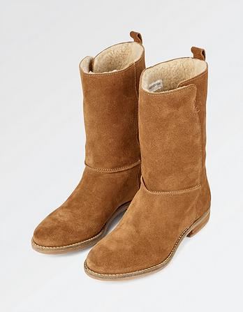 Finsbury Suede Mid Boots