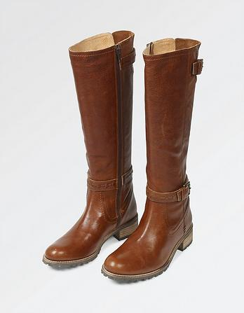 Selsey Leather Riding Boots
