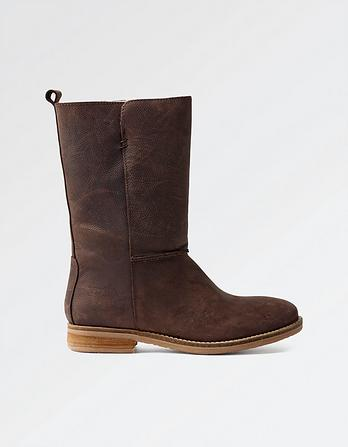 Finsbury Leather Mid Boots