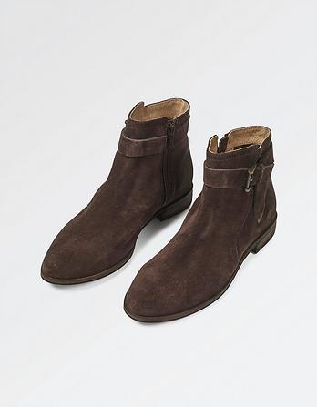 Farnham Suede Jodphur Boots
