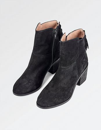 Emily Tassel Ankle Boots