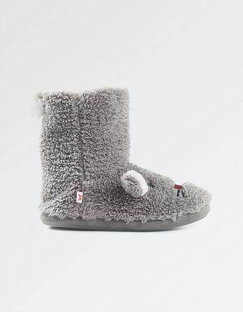 Bunny Slipper Boots