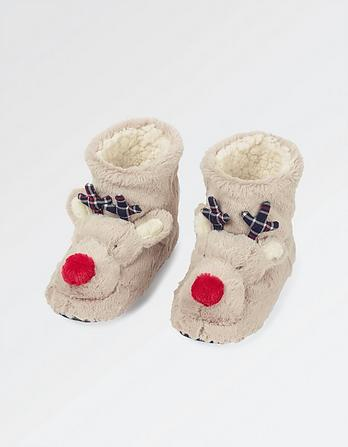 Reindeer Slipper Boot