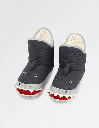 Shark Slipper Boots