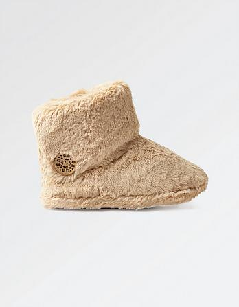Freya Fluffy Slipper Boots