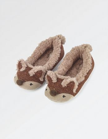 Felicity Fox Ballerina Slippers