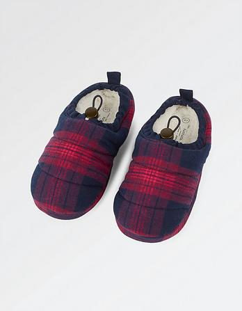 Layla Check Duvet Slippers