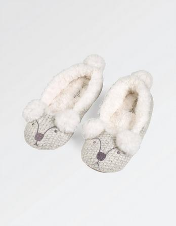 Penny Polar Bear Ballerina Slippers