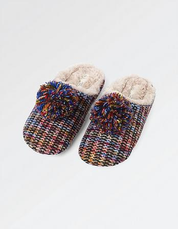 Milly Multi Knit Mules