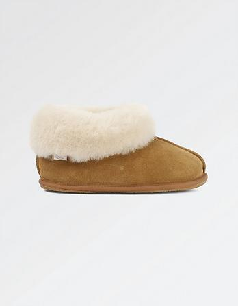 Shauna Sheepskin Slipper Boots