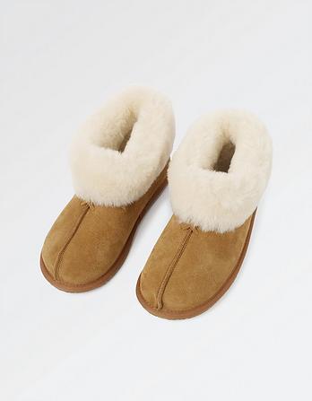 Shauna Sheepskin Slipper Boots