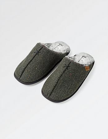 Morgan Tweed Mules