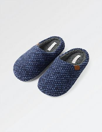 Mason Bobble Knit Mules