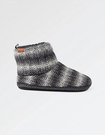 Laurence Low Ombre Slipper Boots