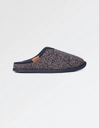 Murphy Tweed Slippers