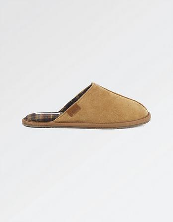 Jerry Suede Mules