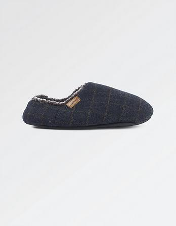 Maddox Check Slipper
