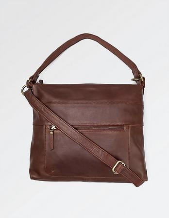 Sally Leather Shoulder Bag