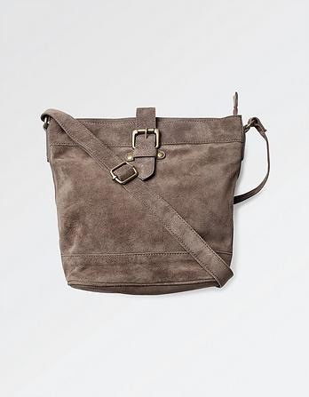 Frankie Suede Cross Body Bag
