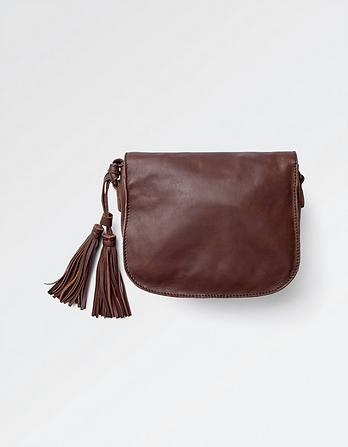 Small Leather Saddle Bag