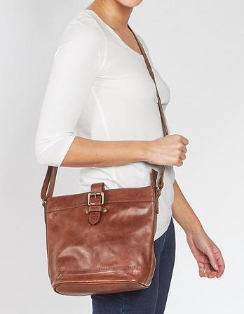 Frankie Leather Cross Body Bag