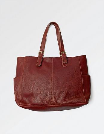 Zoe Zip Tote Bag