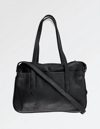 Maddie Leather Shoulder Bag