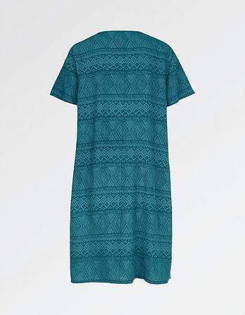 Clara Geo Weave Dress