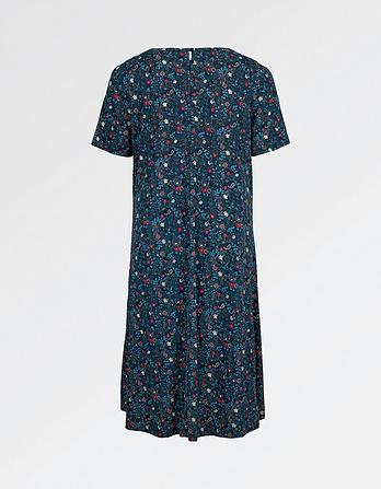 Simone Evergreen Dress