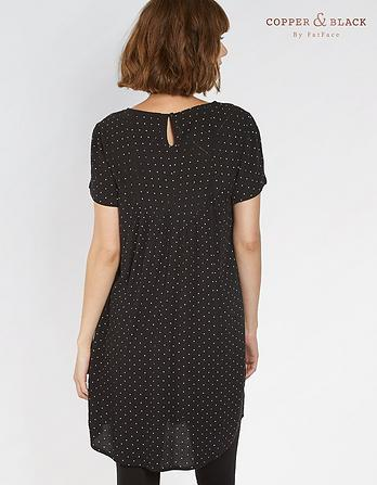 Lola Mono Polkadot Dress