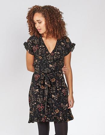 Martha Wildflower Wrap Dress