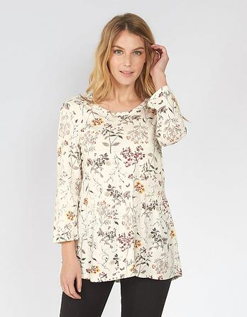 Peyton Wildflower Peplum Top