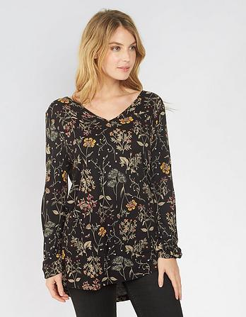 Ryleigh Wildflower Longline Top
