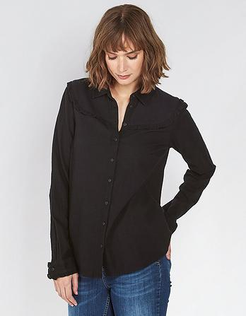 Chrissie Ruffle Shirt