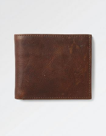 Classic Grained Leather Wallet
