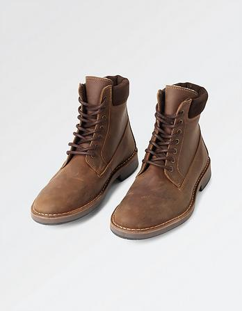 Jake Lace Up Boots