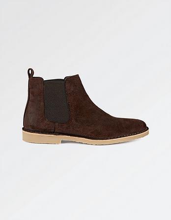 Newport Suede Chelsea Boots