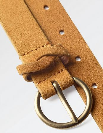Suede Plain Belt