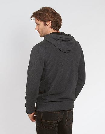Borg Lined Zip Thru Hoody