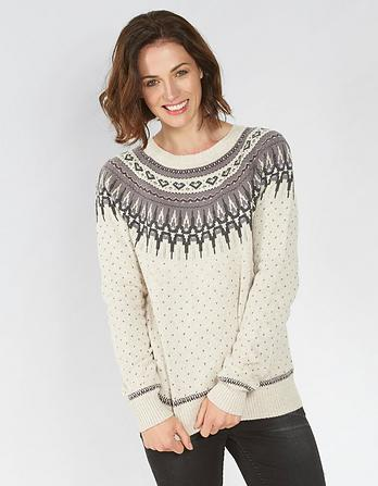 Farah Fairisle Christmas Sweater